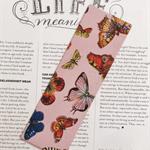 Fabric Bookmark, Butterflies