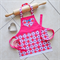 Kids/Toddlers Apron pink - lined kitchen/craft/play apron - Little Sweetie