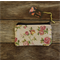 Zipper pouch/coin purse - rose print