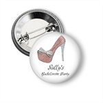 Hens party badges - add your text.
