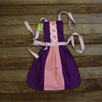 Princess Apron Rapunzel Size 4/5