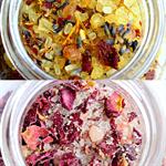 Bath Salt/Soak 1x 300g (herbal mineral or rose and oats)