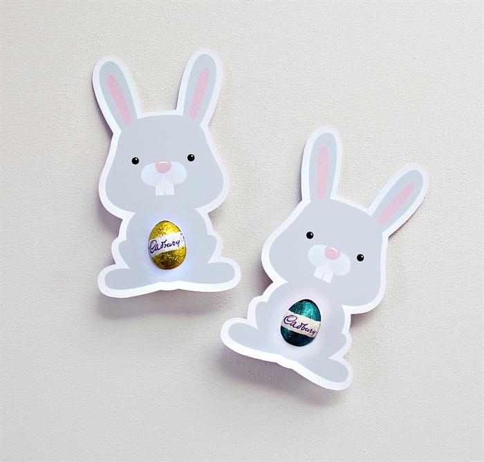 12 bunny easter egg holders easter cards classroom or workplace 12 bunny easter egg holders easter cards classroom or workplace gift negle Images