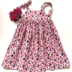 "Size 5 - ""Pink Daisies"" Party Dress"