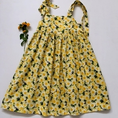 "Size 6 - ""Yellow Daisies"" Party Dress"