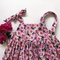 """Size 5 - """"Pink Daisies"""" Party Dress"""
