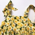 """Size 6 - """"Yellow Daisies"""" Party Dress"""
