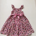"""Size 6 - """"Pink Daisies"""" Party Dress"""