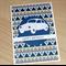 Male Happy Birthday card - car