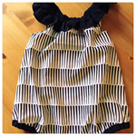 MONOCHROME LOVE ROMPER, sz 0