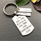 Father of the Bride Gift - Gift for Dad - Personalised Keyring
