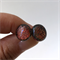 Burst of Colour Copper Crackle Dichroic Fused Glass Earrings