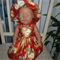 Dolls clothes dress and hat for 48cm dolls like Baby Born