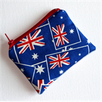 Little Coin Purse in Australia Flag Fabric