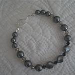 Crystal Pearl Feature Bracelet