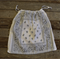 Bandana / Paisley Drawstring Bag - White