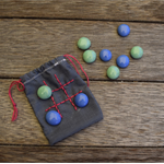 Travel Tic-Tac-Toe - in cotton pouch