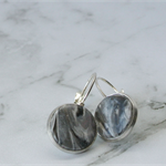 Grey Marble Polymer Clay Lever Arch