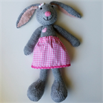 Alice - knitted bunny