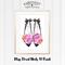 Miss Floral Heels A4 Print