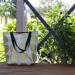 Gold Spot Canvas Tote Bag