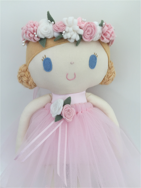 Ruby & Belle  - Iris - Handmade doll