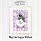Miss Lilac Parfum A4 Print