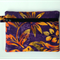 Purple Gold Batik Purse