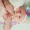 """""""Little Poppet"""" Easter Bunny nylon HEADBAND in colour of your choice"""