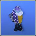FISH BAG TAGS BOOKMARKS