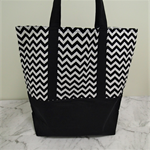 Tote Bag - Black & White