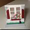 House warming/birthday cards. Flower box see thru window cards.