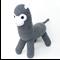 'Amos' the Sock Alpaca - grey - *READY TO POST*