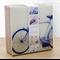 """4 Ceramic Coasters Design """"Retro Bike"""""""