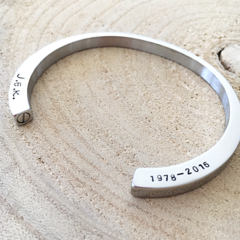 Cremation Bracelet, Bangle Cuff, Urn Bangle, Urn Jewellery, Memorial Necklace