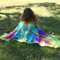 Butterfly Wings Girls Shawl, Creative Wings Scarf, Sarong, Fantasy Costume