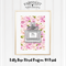 Lilly Rose Floral Parfum A4 Print