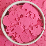Pink Elephant Table Scatters (100 Elephants)