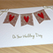 Rustic Wedding Day card