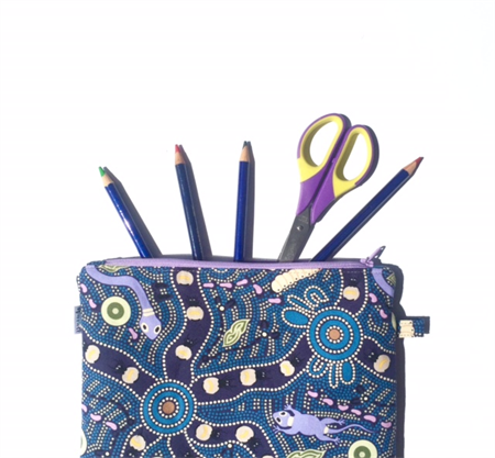 Aboriginal Bush Tucker Pencil Case