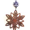 Star Mandala pendant (jarrah)