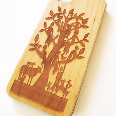 Family Tree cherry phone cover for iPhone 7