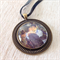 Renoir painting necklace, French artist, Paris