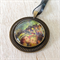 French Renoir, famous artist, painting necklace, Paris