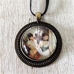 The Dancing Class, Degas, famous art, pendant