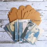 Kraft Tags and Vintage Ladies & Gents Tags Ephemera  DIY Kit