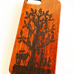 Family Tree Rosewood phone cover for iPhone 7 Plus
