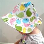 Adjustable Baby Sun Bonnet - Spring Series - Chirpy Birdies
