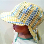 Adjustable Unisex Baby Sunhat - Word finding