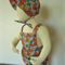 Vintage Style Romper and Bonnet. Balloons. Overalls.